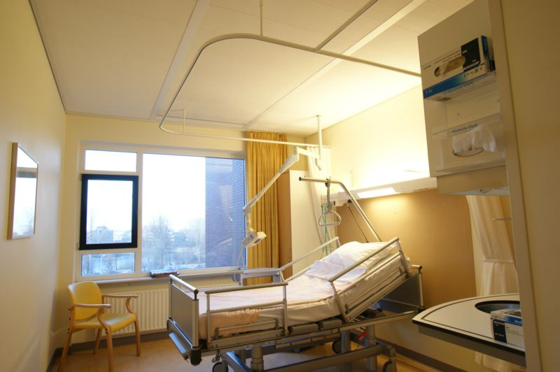 Hospital Curtain Tracks Privacy Curtain Track Systems Goelst