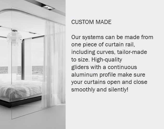 Curtain Rails Curtain Systems Goelst G Rail Curtain
