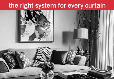 types of curtain rails